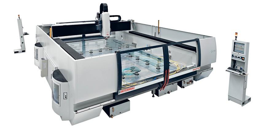 CNC slijpmachine Glas