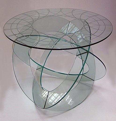 Tafelblad van glas