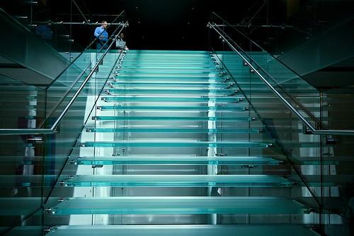 Glazen traptreden