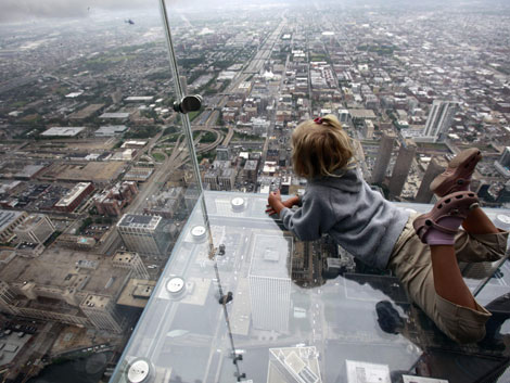Beloopbaar Glas Sears Tower