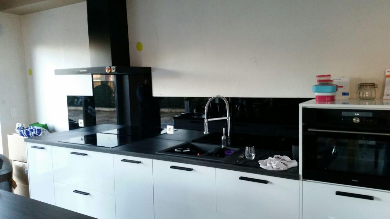 glasplaat monteren : Glasplaat Keuken Monteren Atumre Com