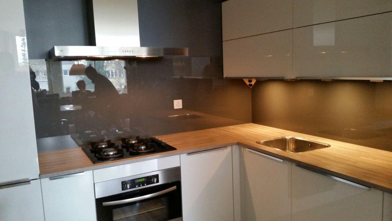 keukenwand glas in sikkens kleur en 00 30 deze keukenwand is gepoten ...