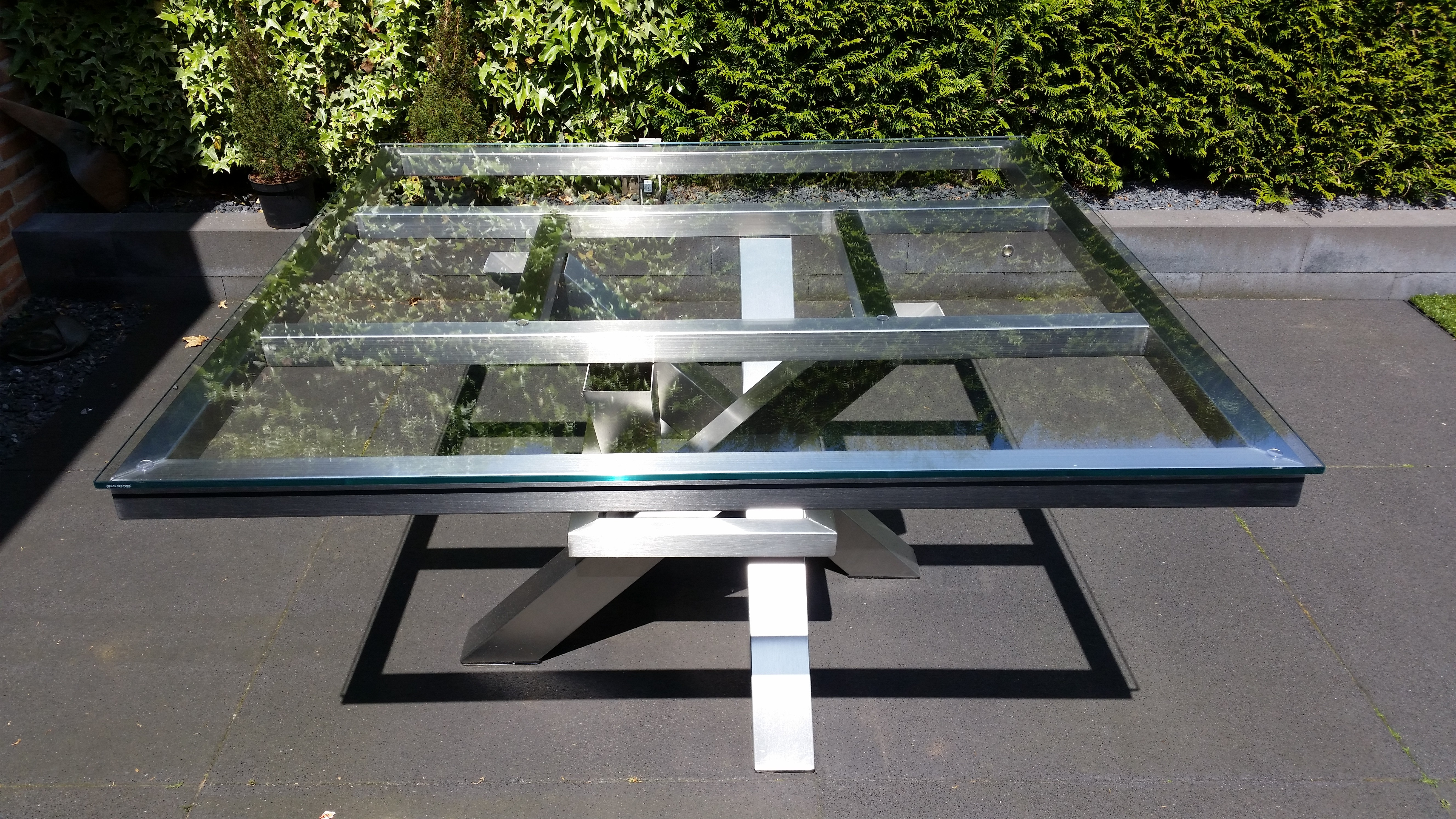 Tuintafel Glazen Plaat.Glazen Tafelblad Op Maat In Elke Vorm Glasbestellen Nl