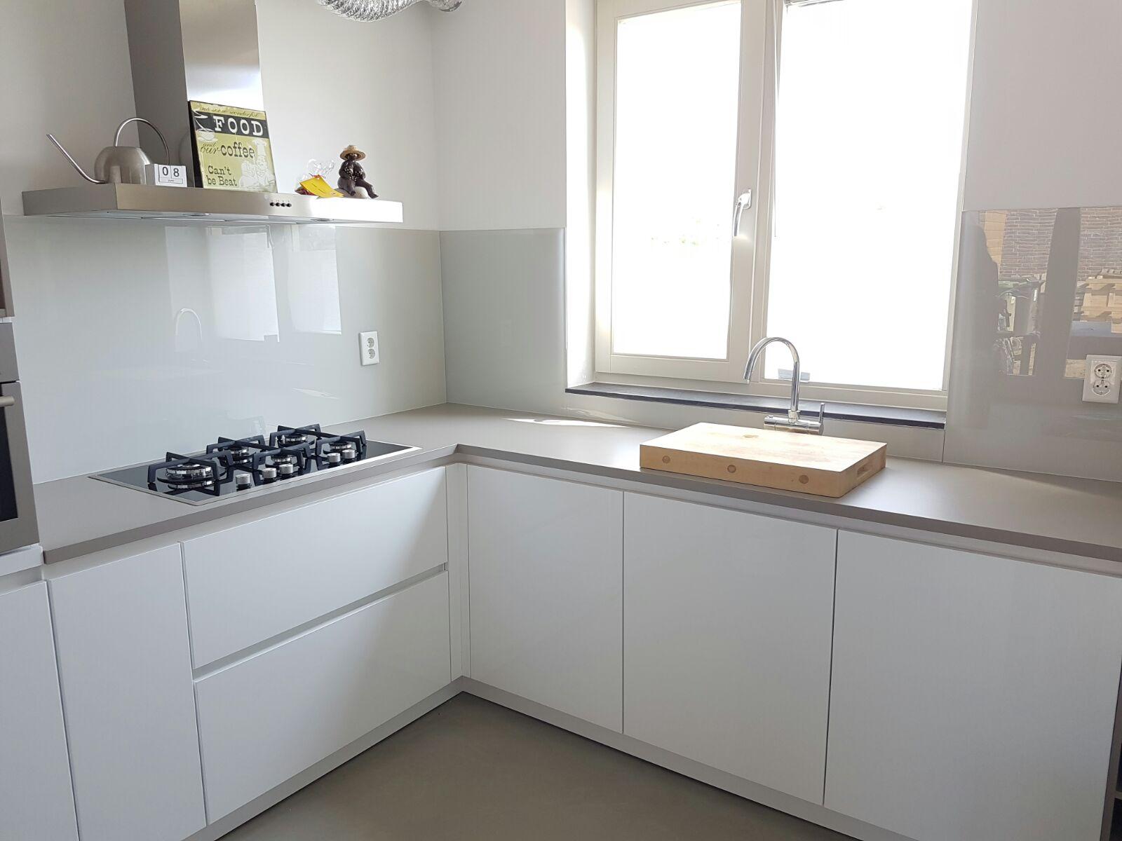 Achterwand keuken idee - Keuken kleur idee ...