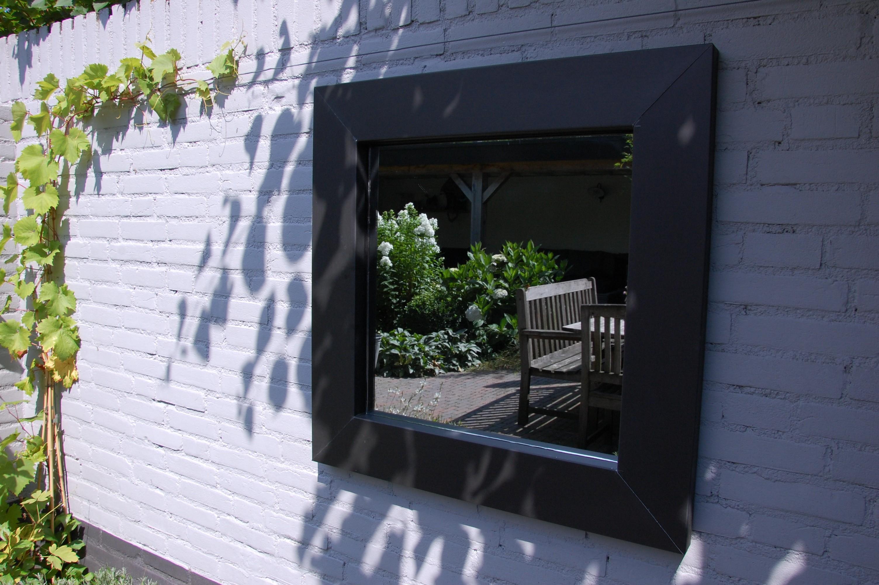 Spiegel Voor Buiten : Tuinspiegels tuinspiegel op maat glasbestellen