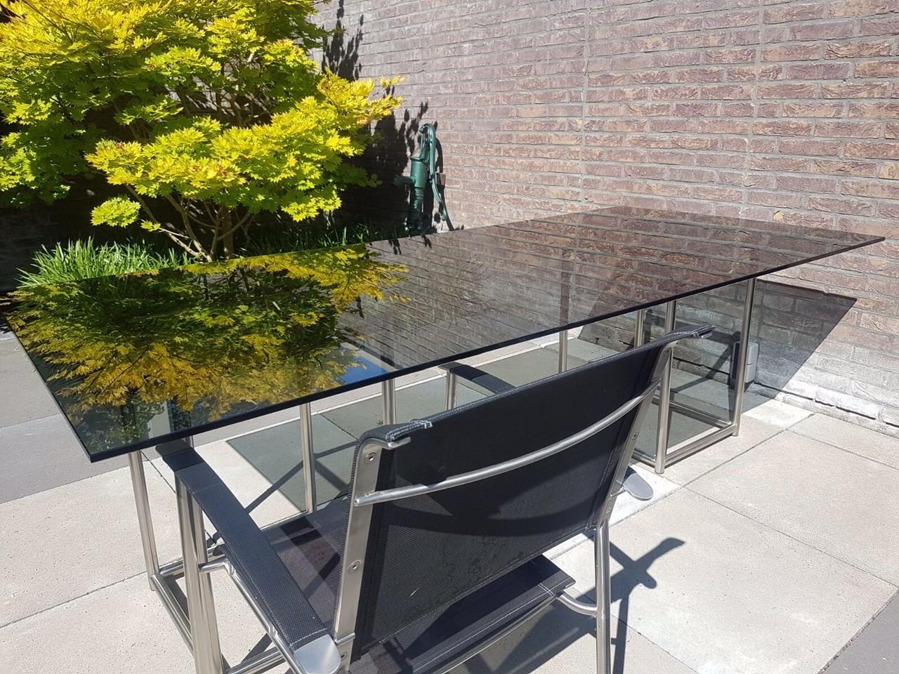 Glasplaat Voor Tafel : Beek maupertuus salontafel glas kok wooncenter