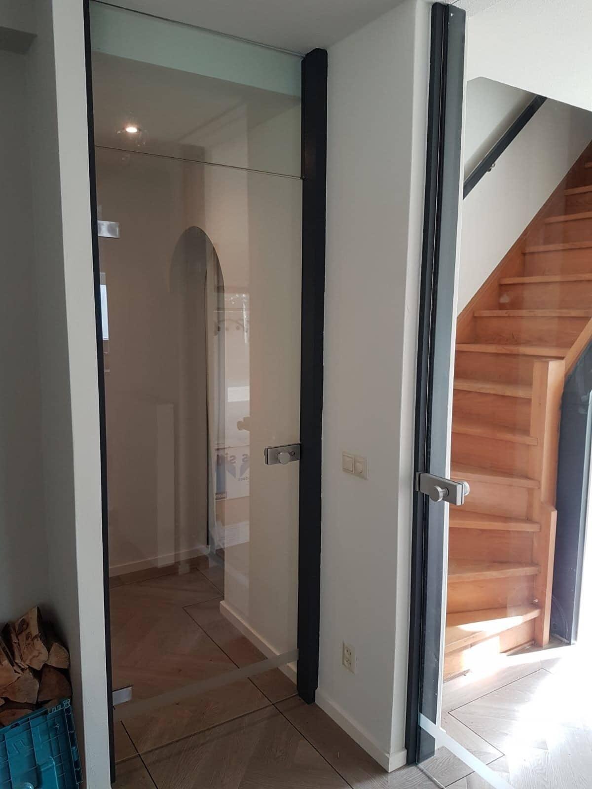 Perfect glazen binnendeur van helder with glazen deuren for Top deuren