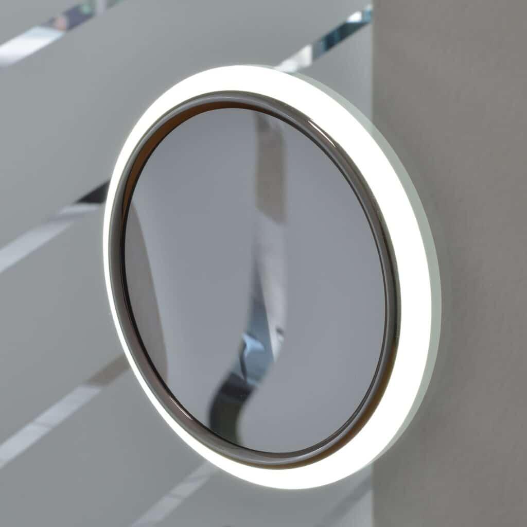 make up spiegel geintegreerd licht aan