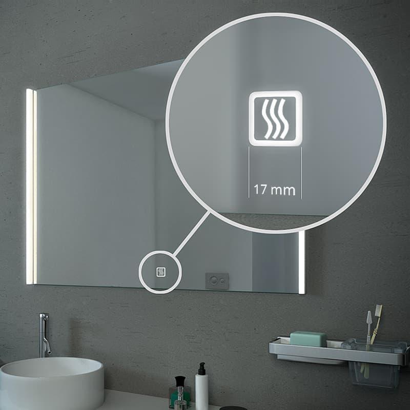 spiegelverwarming touch sensor led spiegel