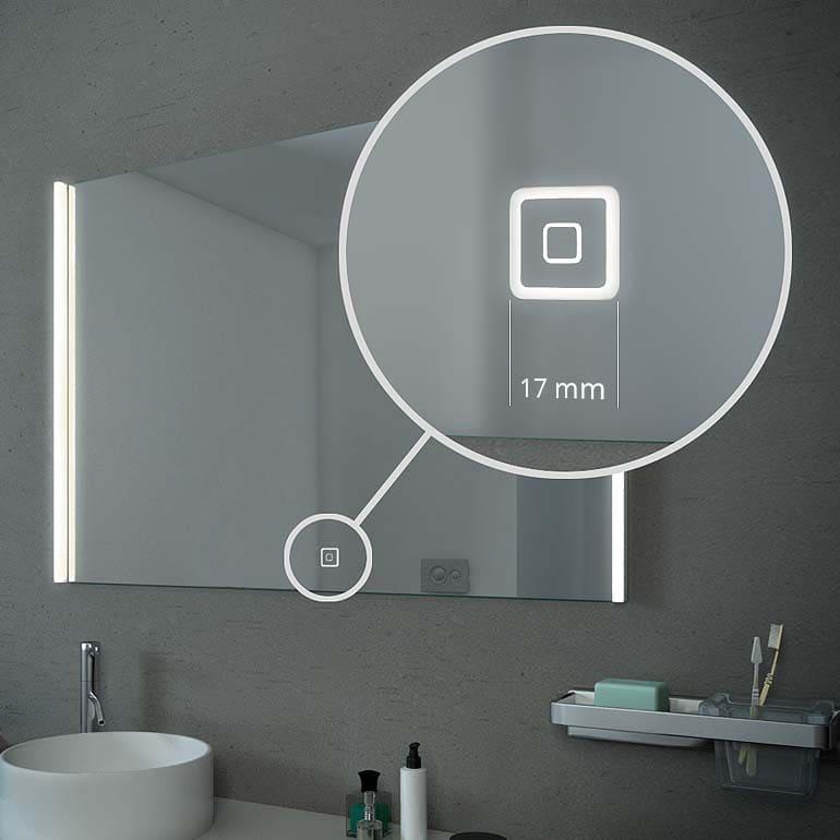 touch sensor led spiegel